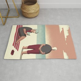 Day Trippers #10 - Sunset Rug