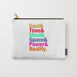 Infinity Gems - Soul& Time& Mind& Space& Power& Reality. Carry-All Pouch