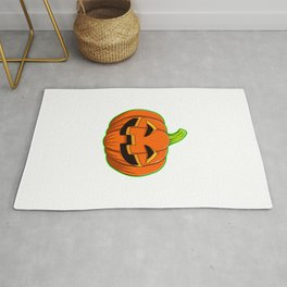 Too Poor For Halloween Funny Halloween Horror Scary Rug