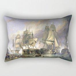 The Battle of Trafalgar Rectangular Pillow