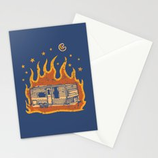 Midnight Trailer Stationery Cards