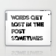 words. Laptop & iPad Skin