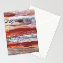 Rock Study in Browns Stationery Cards