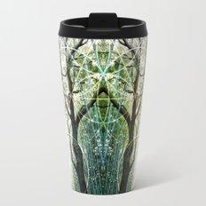 Bamboo Forest Geometry Travel Mug