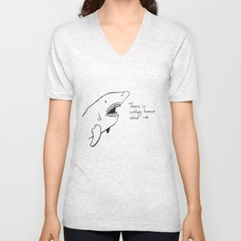 Anthropomorphism Unisex V-Neck