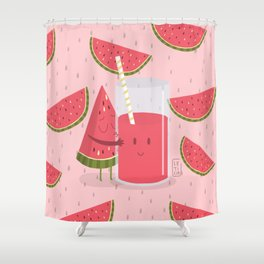 Wattermelon Shower Curtain