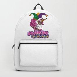 Mythical Mardi Gras Unicorn - Carnival Magic Backpack