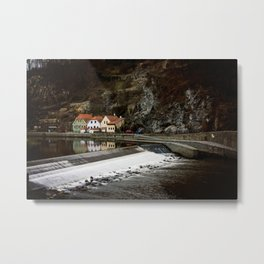 Little Cesky Krumlov Neighbourhood Metal Print