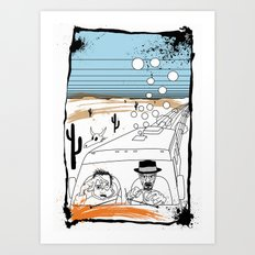 Fear and Loathing in Albuquerque II Art Print