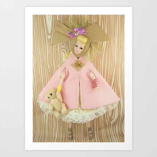 Carousel Of Color Art Print