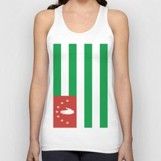 Flag Of Abkhazia Unisex Tank Top