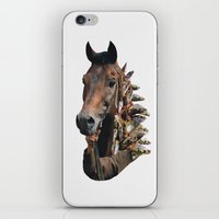 seahorse iPhone & iPod Skins featuring Seahorse by Lerson