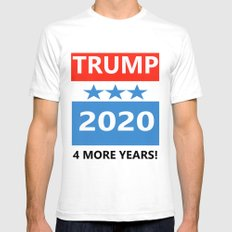 Trump 2020 Halloween Costume White SMALL Mens Fitted Tee