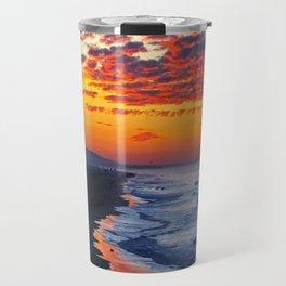 Sunrise Huntington Beach Pier   12/12/13 Travel Mug