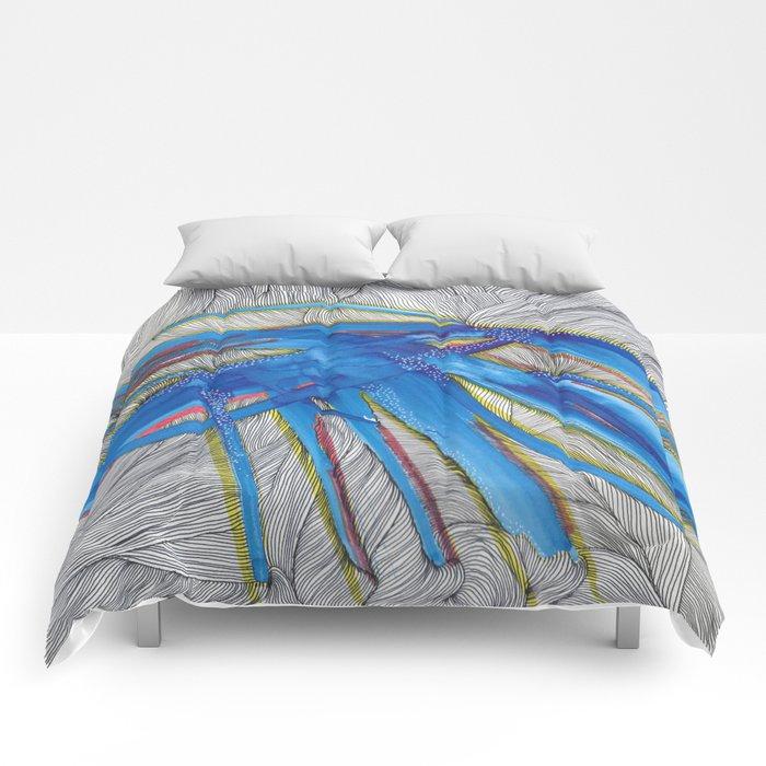 Blue Devils Comforters