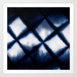 Shibori Experiment Art Print