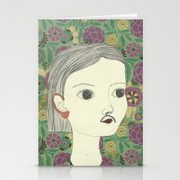 moustache Stationery Cards featuring moustache by Willy Ollero