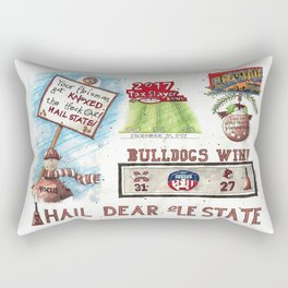 Hail State - Knoxed Out Rectangular Pillow