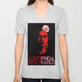 Frida Kahlo (Ver 9.4) Unisex V-Neck
