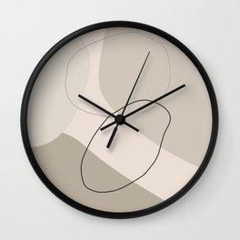 Abstract Shapes V Wall Clock