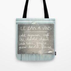 Le Bar a Vins - France Tote Bag