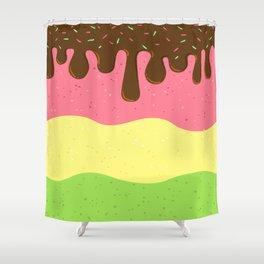 Sweet Ice cream Shower Curtain