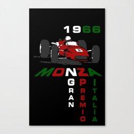 1966 Ferrari at Monza Gran Prix Canvas Print