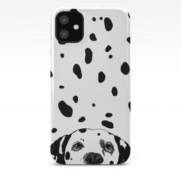 Dalmatian Spots iPhone Case