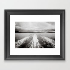 waves II. Framed Art Print