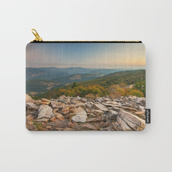 Spruce Knob Mountain Sunset Carry-All Pouch