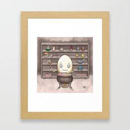 Leonard's Love Concoction Framed Art Print