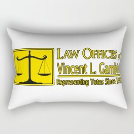 Law Offices of Vincent L Gambini Rectangular Pillow