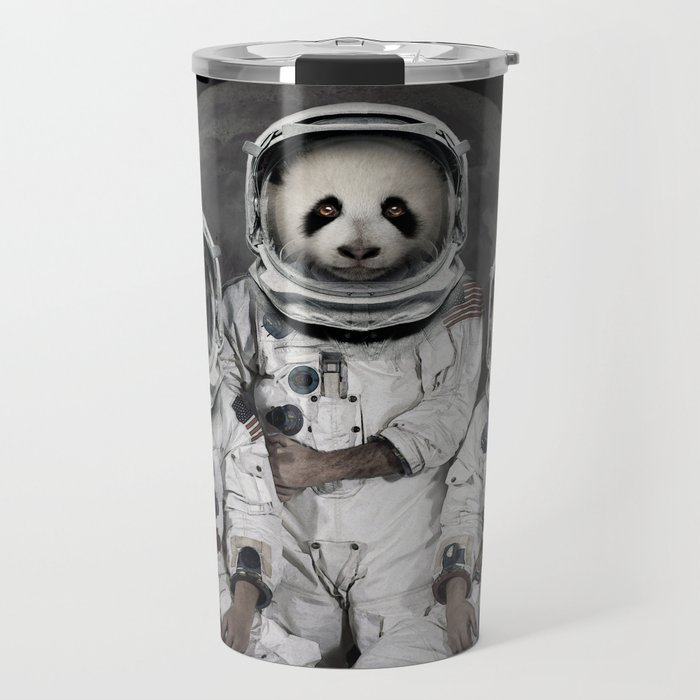 Capricorn 3 - Astronaut animal group Travel Mug