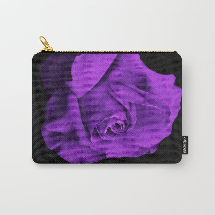 Rose violette purple Carry-All Pouch