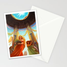 The Temple of Cyprien Stationery Cards