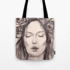 Actress Monica Bellucci - Editorial Tote Bag