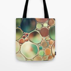 Pastel Abstraction Tote Bag