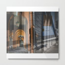 El umbral. Metal Print