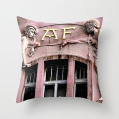 Windows of Prague #1 Throw Pillow