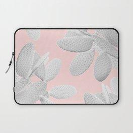 White Blush Cacti Vibes #2 #plant #decor #art #society6 Laptop Sleeve