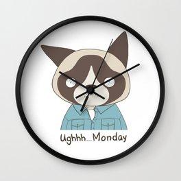 Ughh...Monday Wall Clock