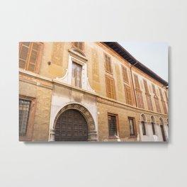 Medieval Architecture, Como, Italy Metal Print