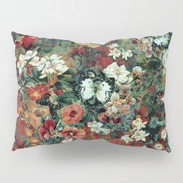 White Butterfly Pillow Sham