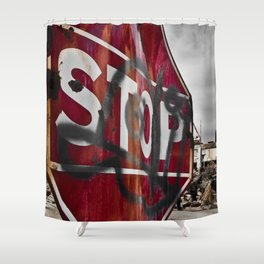 Environmental Shower Curtain