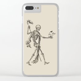 Ex Mortis Clear iPhone Case
