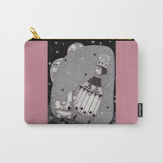 Snow Princess Carry-All Pouch