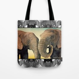 Latabe and Five Tote Bag