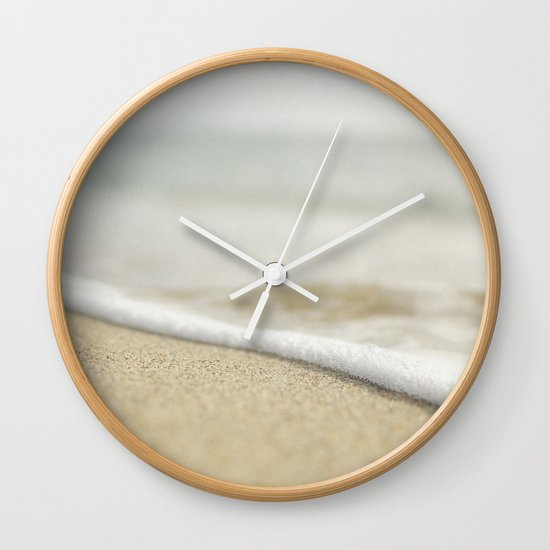 Sand and Surf Wall Clock
