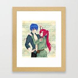 Captain Jerza Framed Art Print