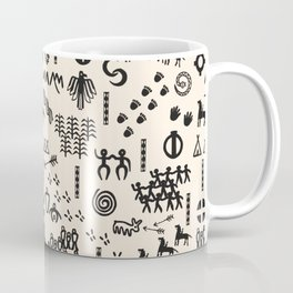 Peoples Story - Black and Creme Coffee Mug